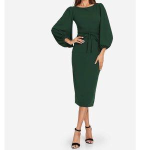 ⭐️Host Pick ⭐️ Lantern Sleeve Dress